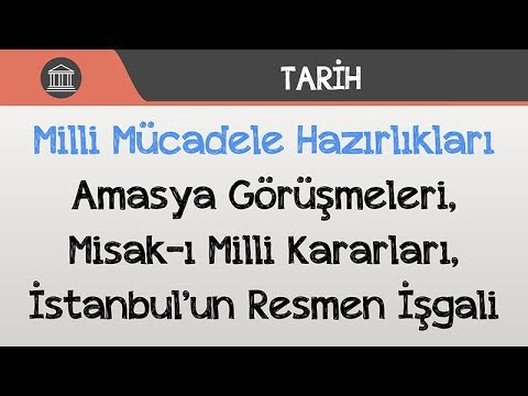TYT - AYT Tarih - Amasya Genelgesi   TYT - AYT Tarih 2022 #hedefekoş