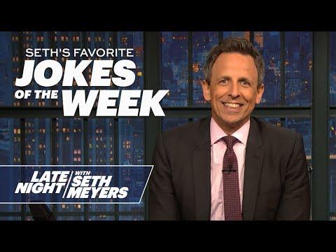 Seth's FavoriteJokesoftheWeek: Trump's Vaping Plans, Kanye's Name Change