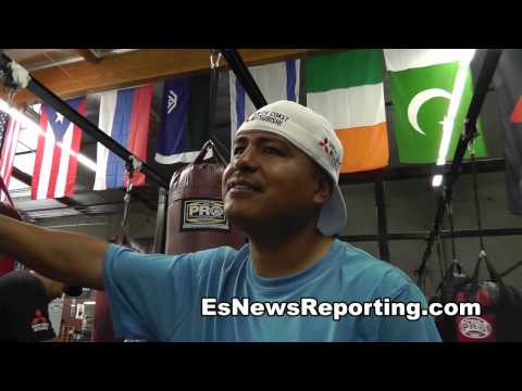 robert garcia the big g had maidana winning first mayweather fight - EsNews