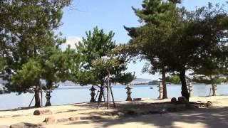 清盛神社は、厳島神社にも関わる平清盛を祀る神社です。