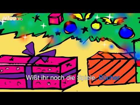 Morgen Kinder wird's was geben - Karaoke Version (Sing Allein) in Deutscher Sprache mit Text