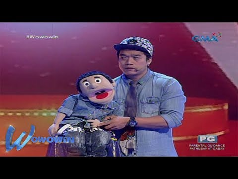 Wowowin: Funny ventriloquist tandem, Arnold and Janno