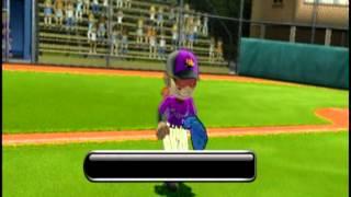 Little League® World Series Baseball 2009 (Nintendo Wii) - Tounament Mode - Game 3 - Part 2