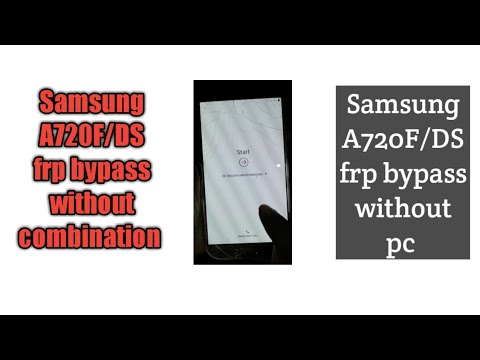 How to Remove Screen lock Samsung Galaxy A7 2017 (SM-A720F