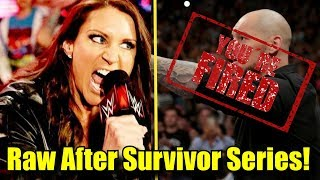5 Things That Can Happen On The Raw After Survivor Series!