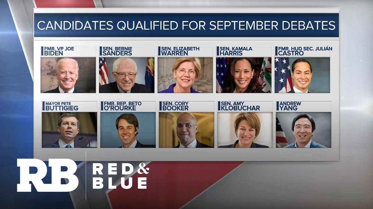 Watch the Democratic debate: Time, date, location and qualified ...