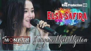 Gambar cover Jangan Nget Ngetan - Elsa Safira - New Monata Live Bodas Tukdana Indramayu