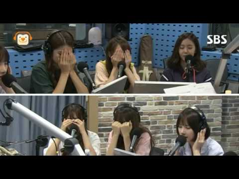 GFriend reaction to Eunha 'I Have To Forget You'