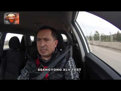 SsangYong XLV Test