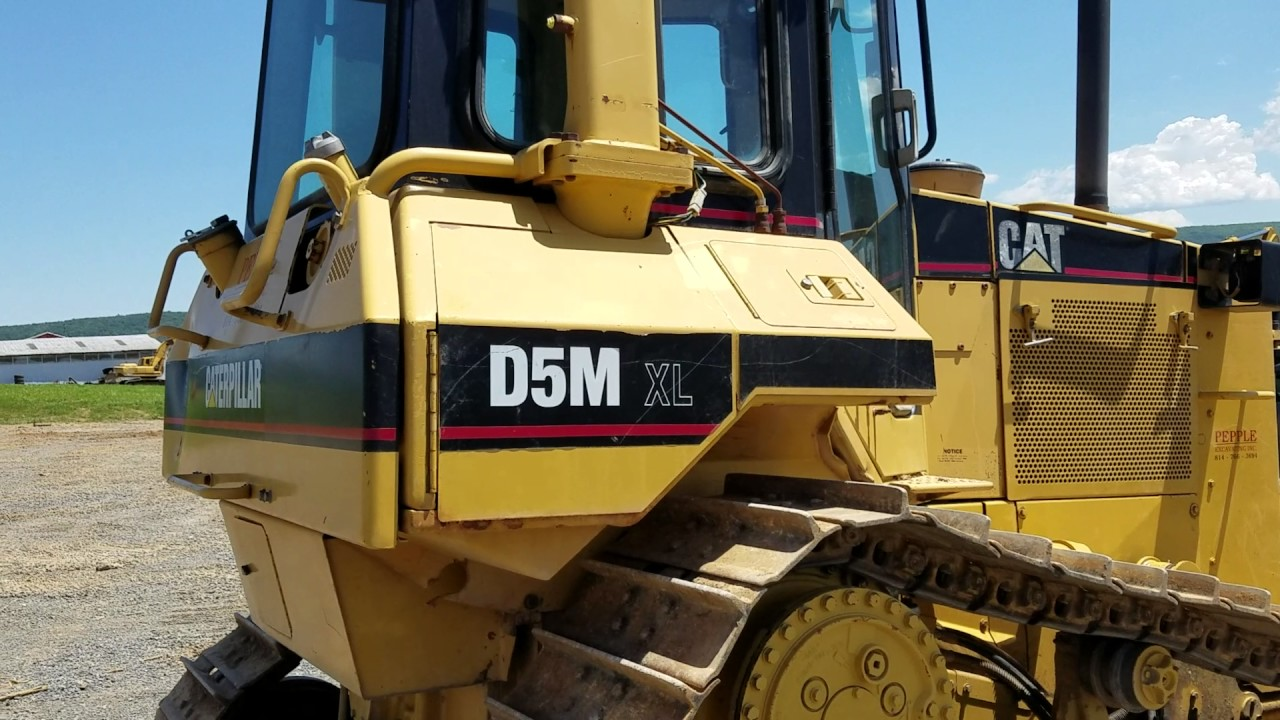 1997 Cat D5m Xl High Track Dozer For Sale Inspection Video Youtube