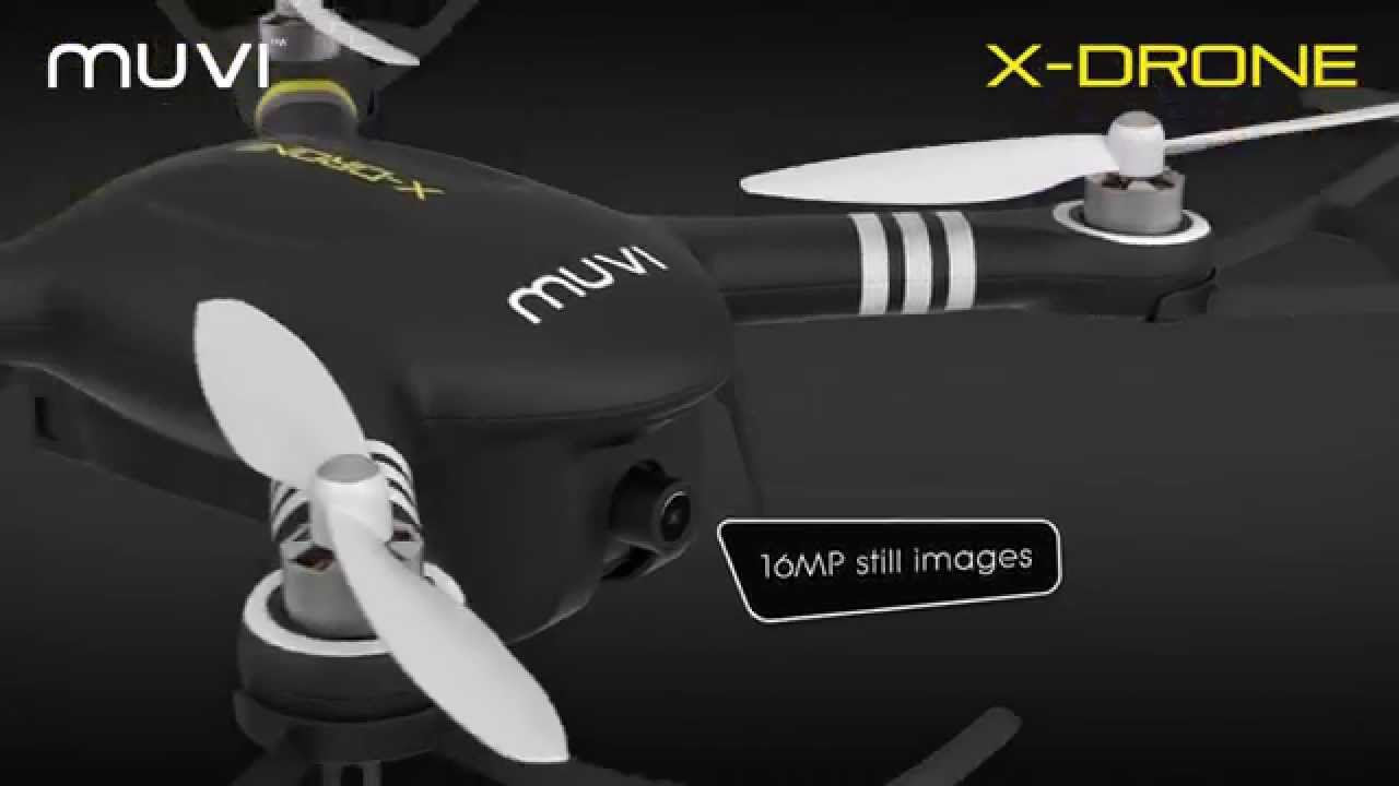 Veho VXD-001-B Muvi X-Drone - Remote Controlled Drone with 1080p HD Camera