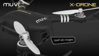 Veho VXD-001-B Muvi X-Drone - Remote Controlled Drone with 1080p HD Camera(Introducing the brand new Muvi X-Drone from Veho. A complete remote controlled aerial camera system that's ready and easy to fly within minutes, allowing you ..., 2015-08-14T10:49:41.000Z)