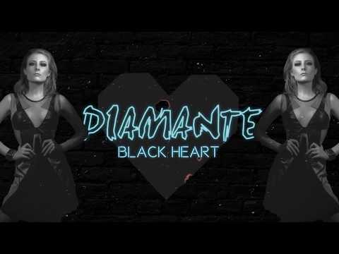 DIAMANTE - Black Heart (Lyric Video)