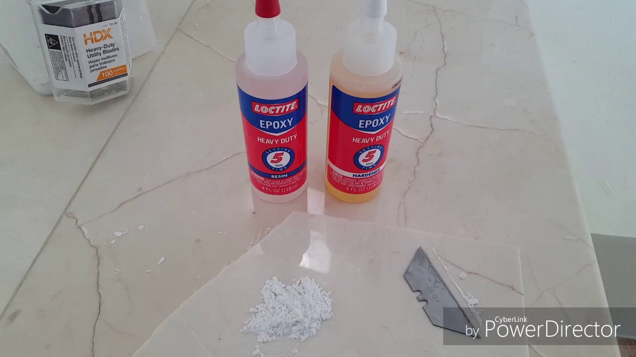How To Repair Chips Or Scratches In Marble