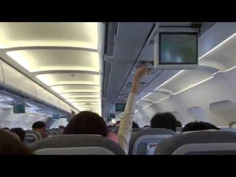 Milan (MXP)-to-Helsinki flight: cabin flight map depiction 2014-04-30