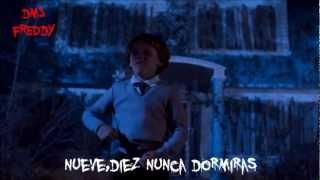 Pesadilla en la Calle del infierno -Canción Freddy Krueger (comparaciones Latino)