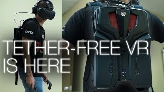 MSI VR One Backpack PC: (Tether-)Free at Last!