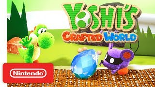 Yoshi's Crafted World - Demo Trailer - Nintendo Switch