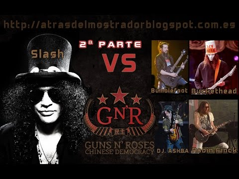 Slash VS Chinese Democracy Guitars – Part2 (Guns N' Roses)