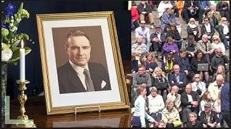 Presidentti MAUNO KOIVISTON hautajaiset 2017, Helsinki  4K