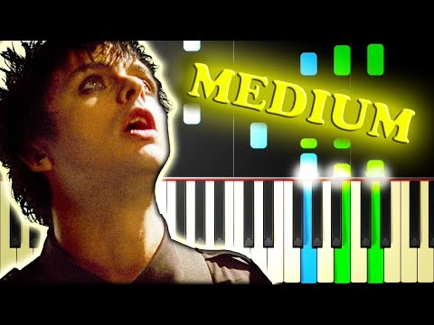 GREEN DAY - WAKE ME UP WHEN SEPTEMBER ENDS - Piano Tutorial
