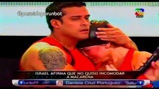 COMBATE: Israel Grita a Macarena y la Hace llorar 23/07/13