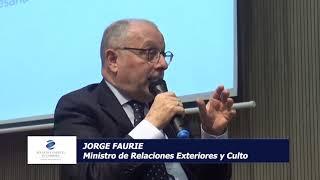 Jorge Faurie - 4to Ciclo de coyuntura de la Bolsa de comercio