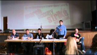 National Shop Stewards Network conference June 2011 - Socialist Party video