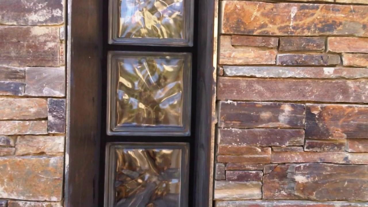 bloques de vidrio u glass paves obras y reformas  YouTube