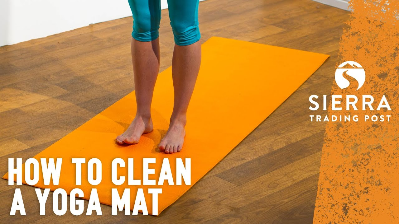 Yoga Mat How To Clean Sanitize Youtube