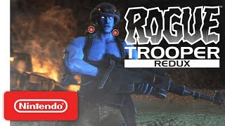 Rogue Trooper Redux Graphics Comparison - Nintendo Switch Trailer