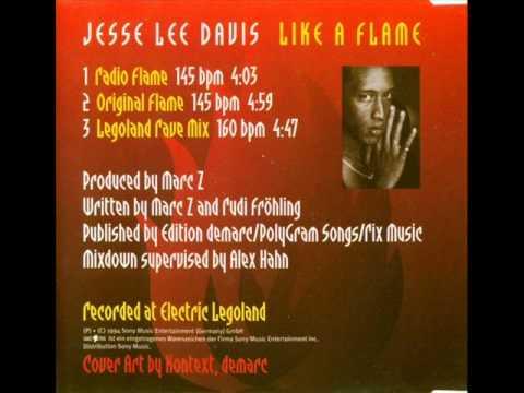 Jesse Lee Davis - Like A Flame (Radio Flame) [1994]