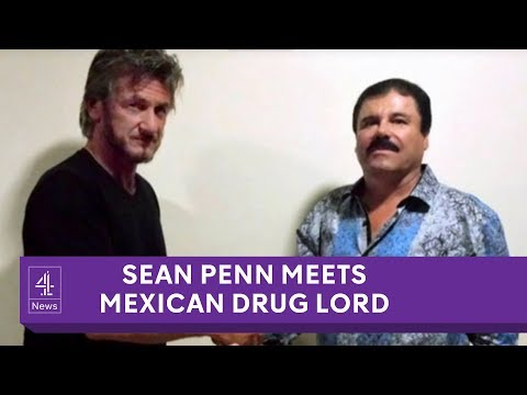El Chapo: Sean Penn interviews Mexican drug lord