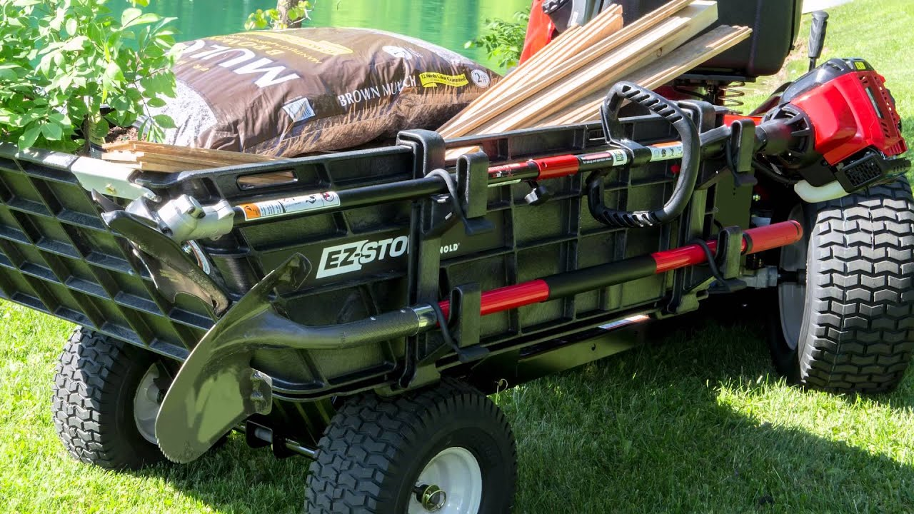 Yard Projects Made Easier with an EZ Stow Cart