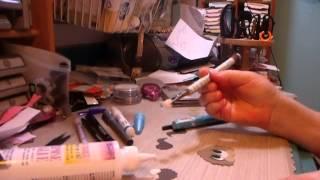 Paper piecing eyes tutorial by Lara