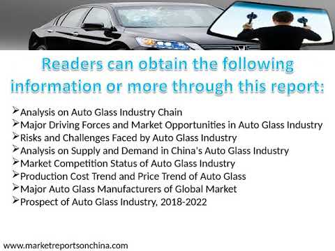 Research Report on Auto Glass Industry in China, 2018-2022