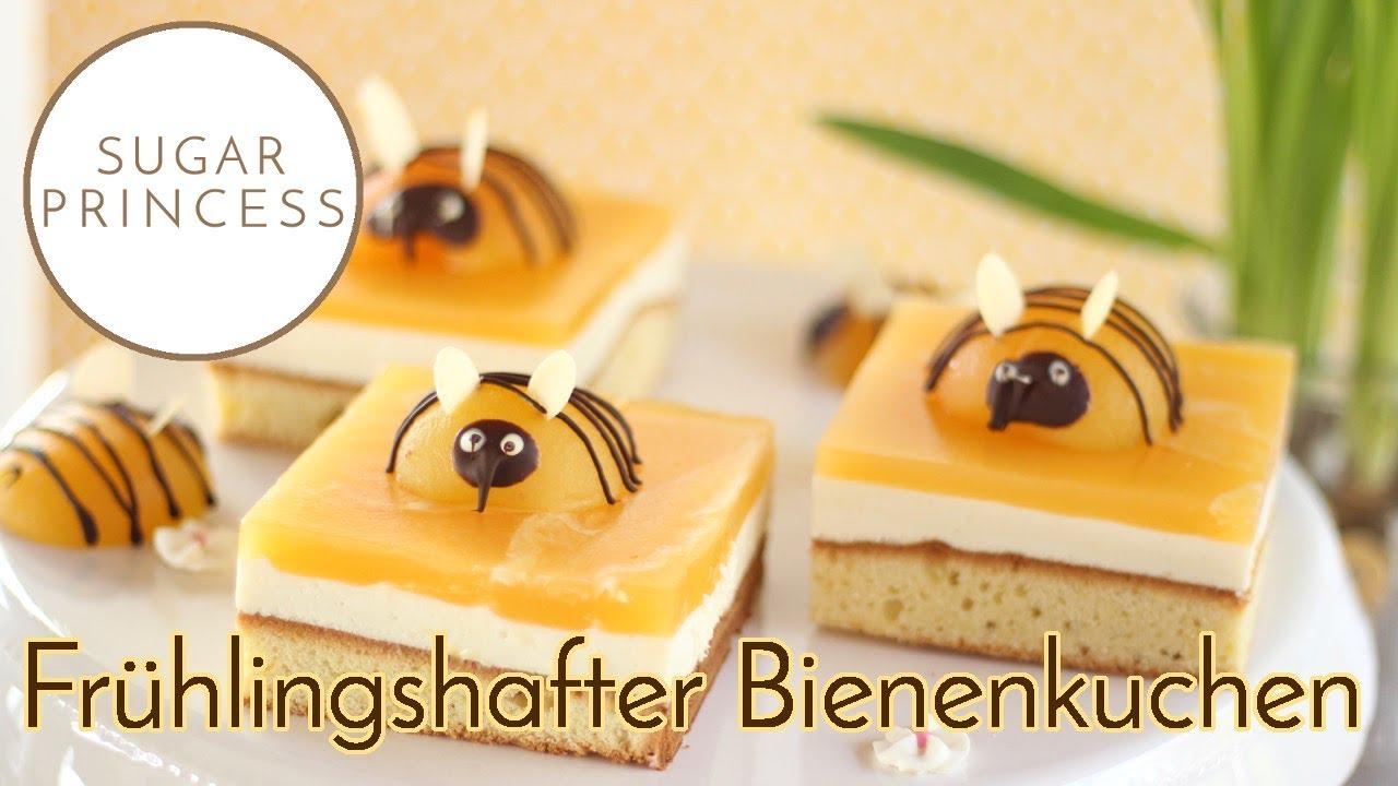 Bienenkuchen Kuchen Ostertorte Mit Aprikosen Und Joghurt Quark