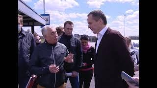 В Губкине 4 мая побывал врио губернатора Белгородской области Вячеслав Гладков