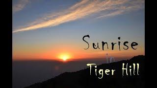 Sunrise in Tiger Hill    Tiger Hill, Darjeeling    India