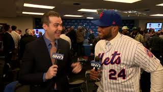 Robinson Cano thrilled to return to New York with the Mets