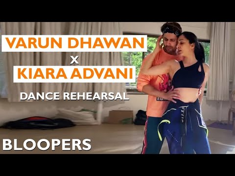 Varun Dhawan and Kiara Advani R0MANTIC Dance Rehearsal at Awards Function Performance