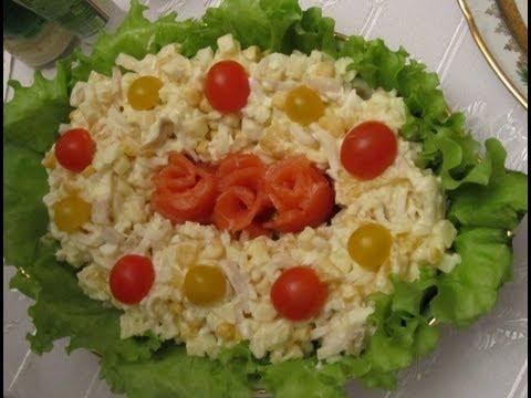 рецепты салаты кальмарами с с морские фото
