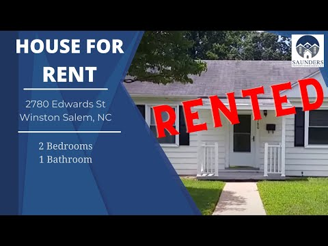 Winston-Salem Homes For Rent 2780 Edwards Street Winston-Salem NC 27127