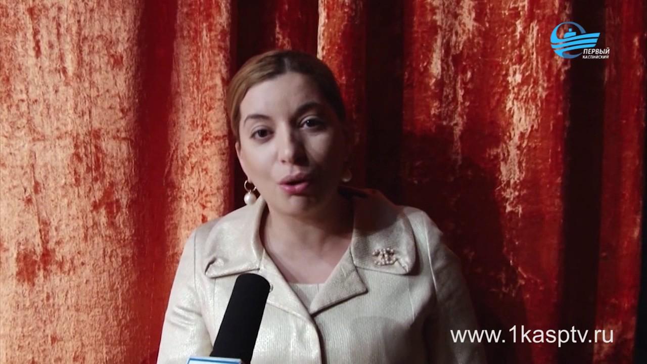 Специально для милых дам во Дворце Культуры завода Дагдизель состоялся общегородской концерт