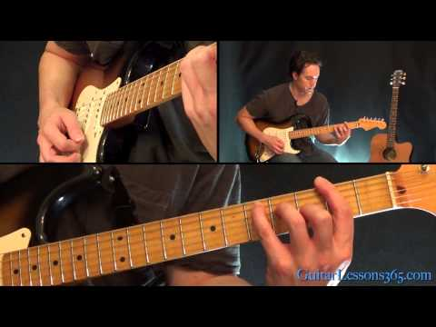 Good Times Bad Times Guitar Lesson - Led Zeppelin - All Rhythm Guitar Parts