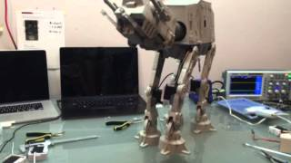 Star Wars Imperial AT-AT Walker new trick... Shake a paw