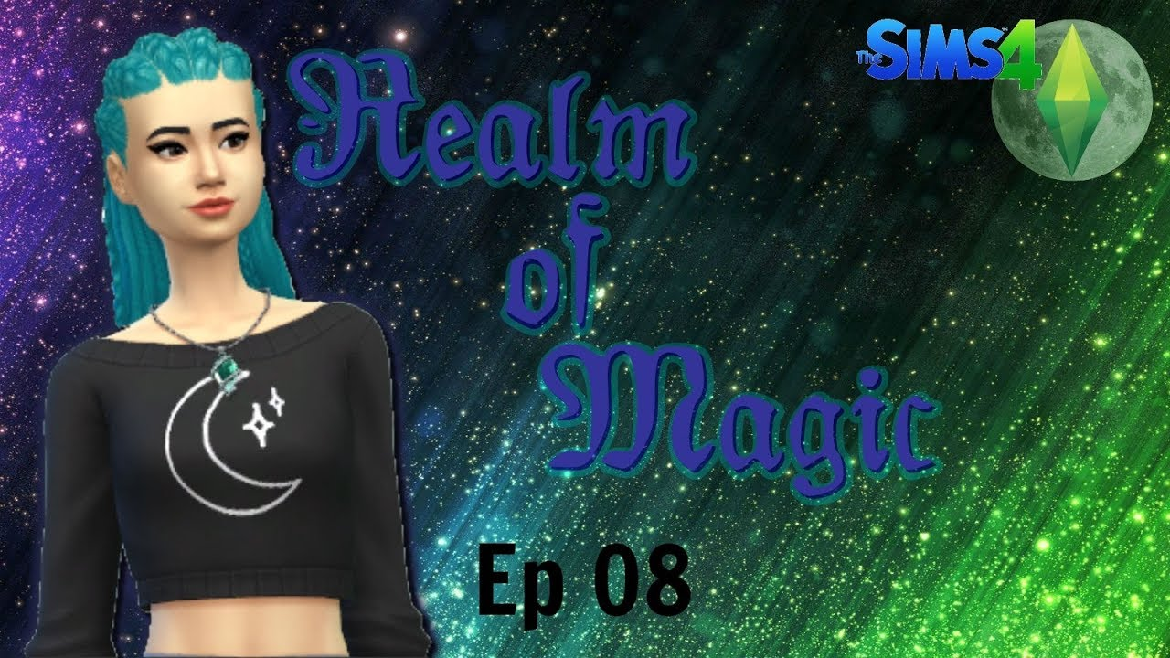 Sims 4 - Realm of Magic Ep08 - Poor Potions Procurement ...
