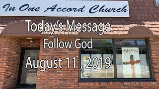 In One Accord Church Follow God
