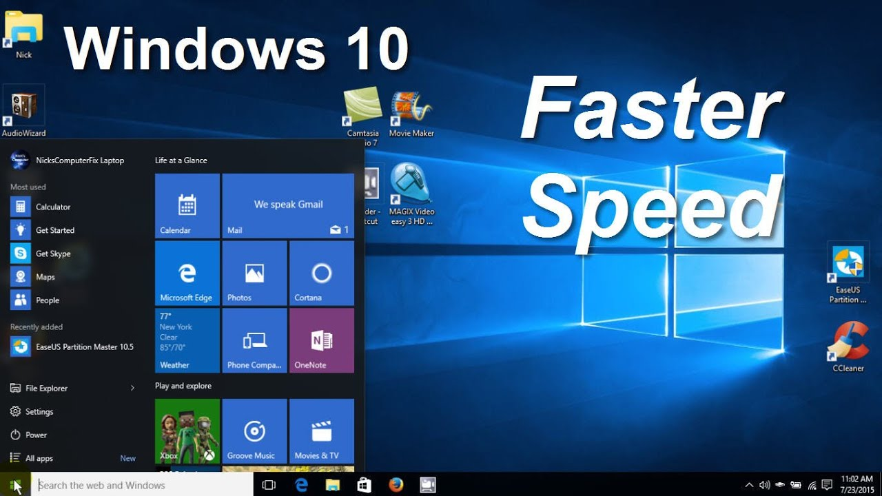 How To Make Your Computer Faster Windows 10 For Gaming
