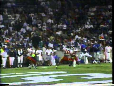 Cincinnati At Memphis State Football 1992 Second Half Highlights